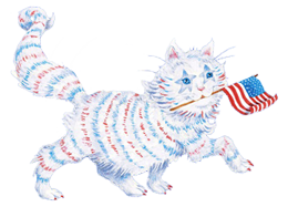Star-Spangled Cat
